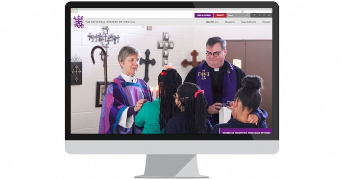 The Episcopal Diocese of Virginia Launches Upgraded Website