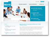 New Website Launches for Advix, an Electronic Health Record System