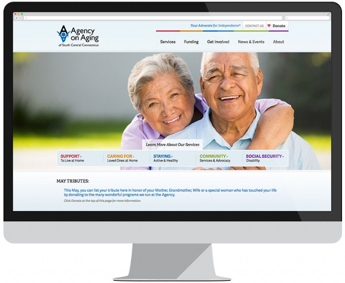 New Website Launches for the Agency on Aging of South Central Connecticut