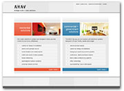 AHAV Web Redevelopment Showcases Company's Services