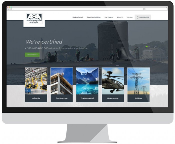 ASA Environmental Gets Cleaner Look with New Website