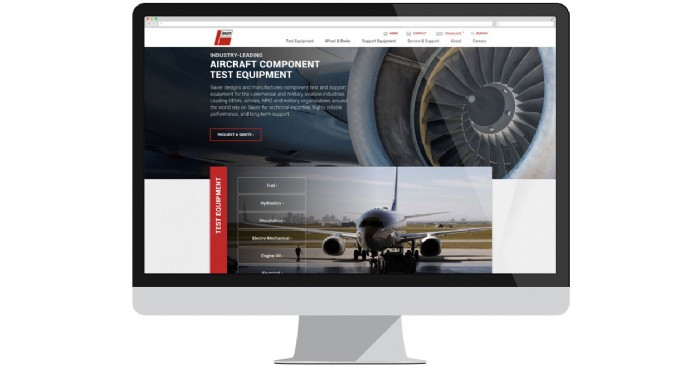 Bauer Launches New Website for Aircraft Component Test Equipment
