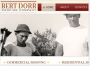 Bert Dorr Roofing Company Launches New Website