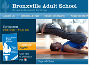 Bronxville Adult School Launches Interactive Web Site