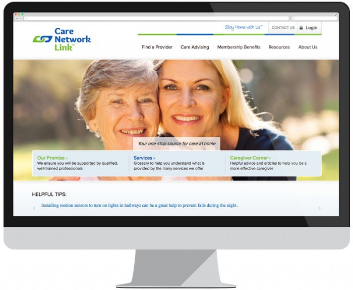 Care Network Link Launches Brand New Website