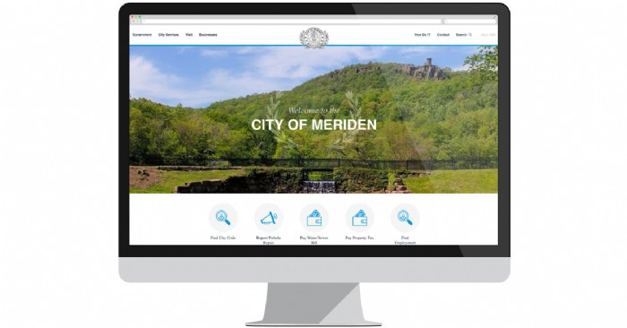 "The City of Meriden Launches New Site for ""All Things Meriden"""