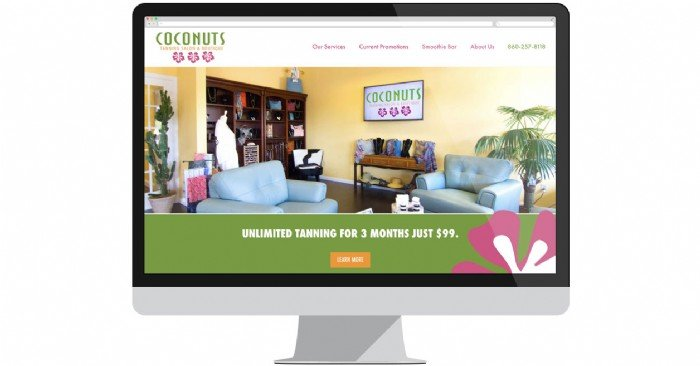 Coconuts Tanning Salon & Boutique Launches New Website