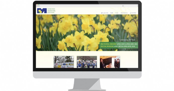 Meriden Launches Website for 2018 Daffodil Festival