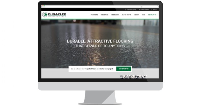 Dur-A-Flex Launches New Website for High-Performance Floor & Wall Systems