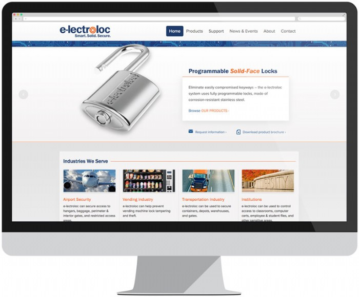 The New e-lectroloc™ Product Line Gets A Stand Alone Website