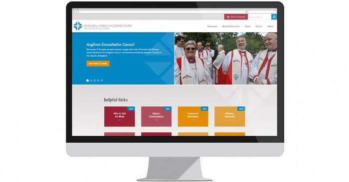Episcopal Church in Connecticut Welcomes Refreshed Website