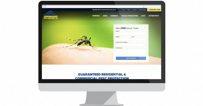 Envirocare Pest Control Showcases Services on New Website
