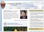 New Web Site & New CMS Technology for Episcopal Diocese of Atlanta