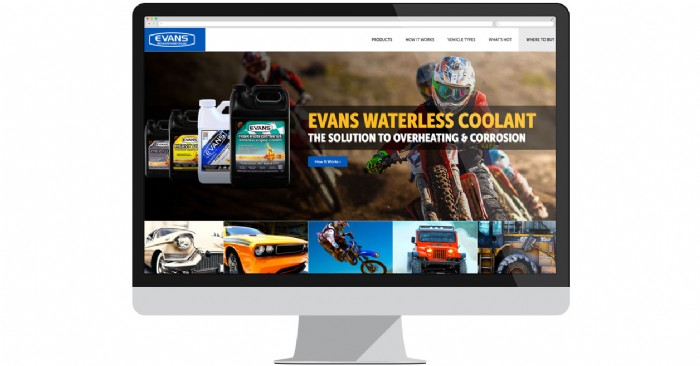 Evans Cooling Launches New Website Catering to Car Lovers