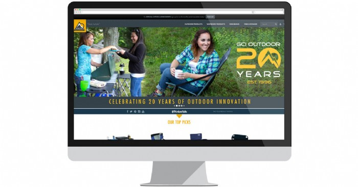 "GCI Outdoor Website Goes from ""Nice"" to ""Awesome"""