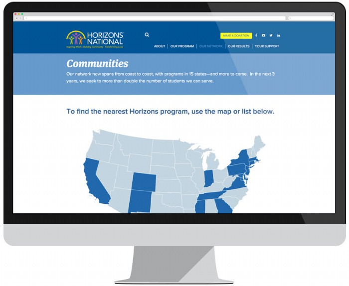 Horizons National Expands with New Website