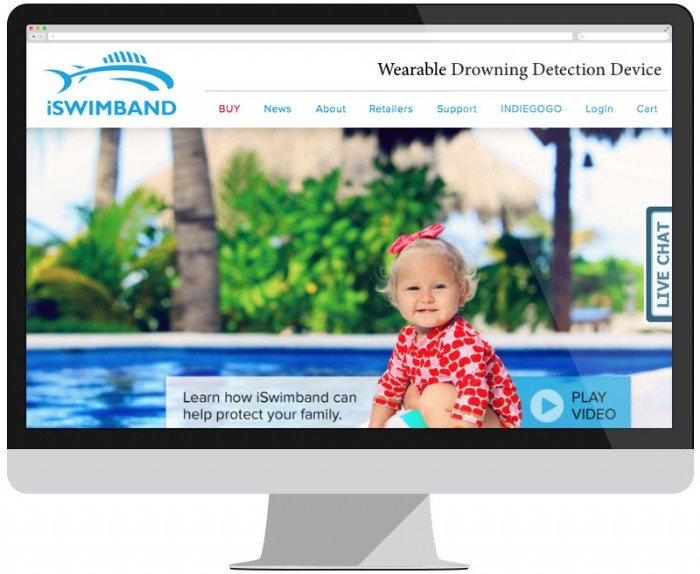 iSwimband Launches Redesigned Website