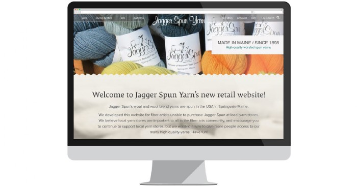 Jagger Spun Yarn Launches New Retail Website