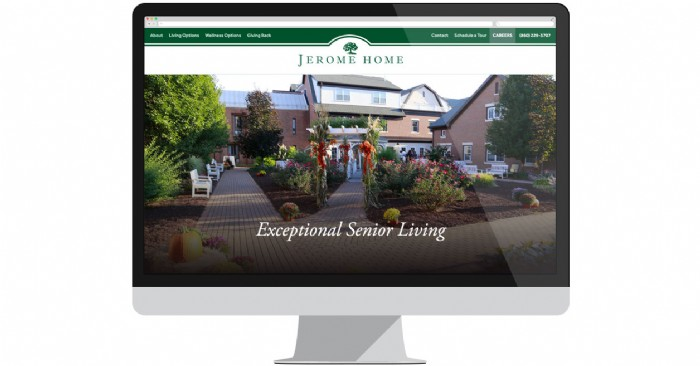 Jerome Home Senior Care Center Launches New Website