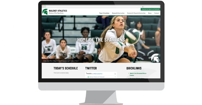 Maloney High School Athletics Launches New Website