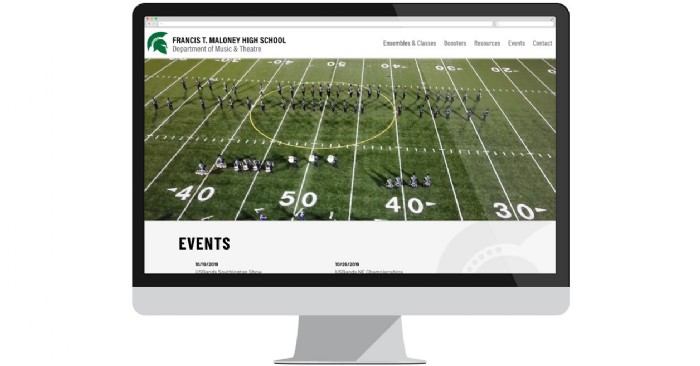 Maloney High School Music Department Launches New Website