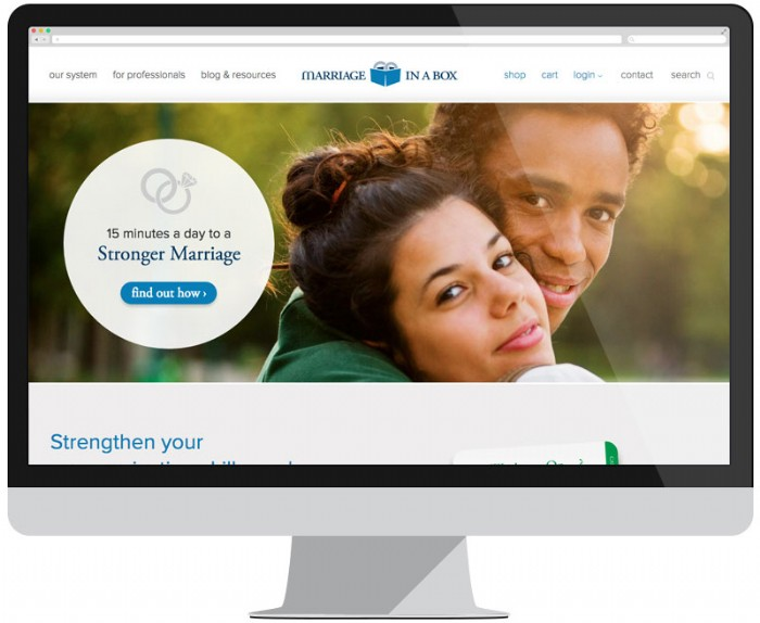 Marriage In A Box Launches New Website