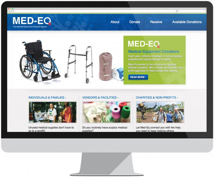 Med-Eq's Website Gets an Upgrade