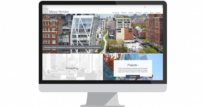 Mercer Partners Launches Responsive Website