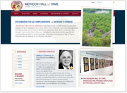 Meriden Hall of Fame Now Has a Website