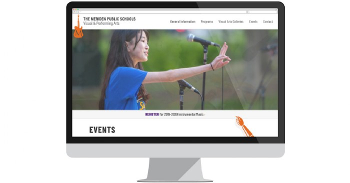 Meriden Public Schools Arts Department Launches New Website
