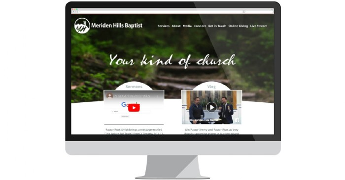 Meriden Hills Baptist Church Launches New Website