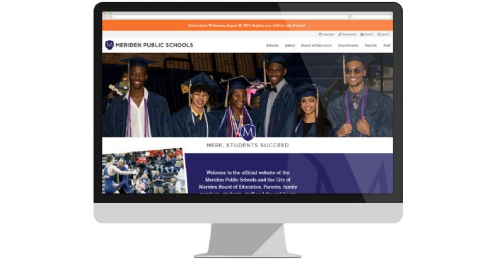 Meriden Public Schools Starts the New School Year with a New Website
