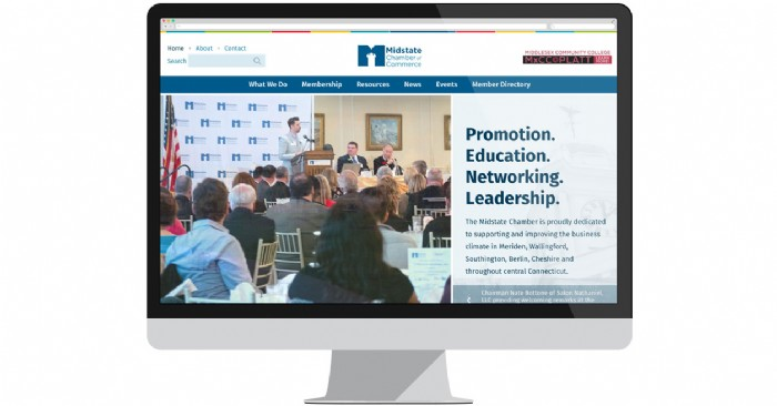 Midstate Chamber of Commerce Launches New Website
