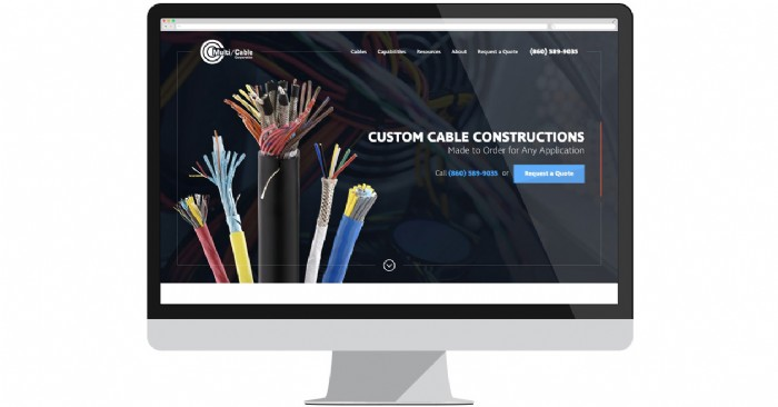 Multi Cable Corp. Launches New Website For Custom Cable Manufacturing