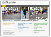 A Clean Layout and CMS Platform for the Middlesex Community College Foundation