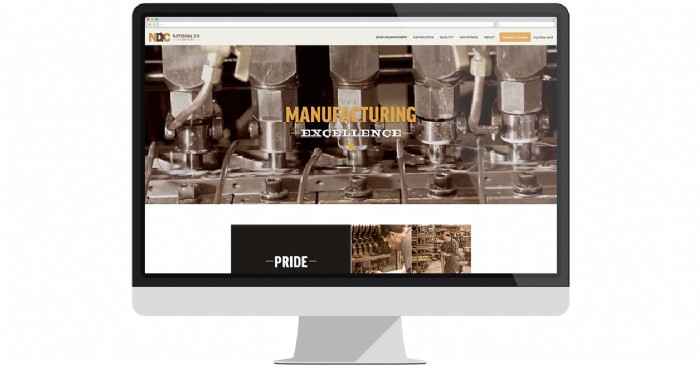 National Die Company Launches New Website for Deep Draw Manufacturing