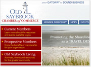 Old Saybrook Chamber finds Sound Business with Web Solutions