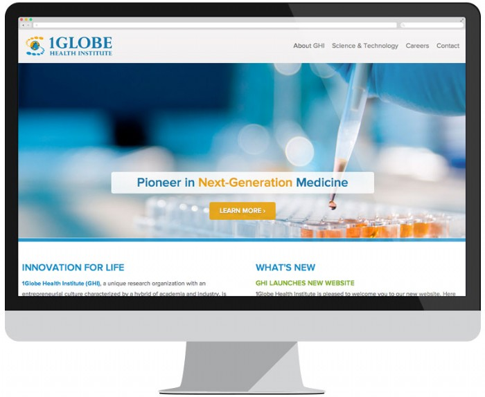 1Globe Health Institute Launch New Website