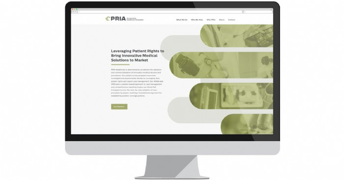 PRIA Healthcare Launches New Website to Improve Medical Care