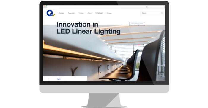 Q-Tran Launches New Website for LED Linear Lighting Solutions