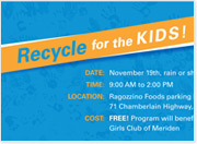 Boys & Girls Club of Meriden to Hold E-Recycling Event