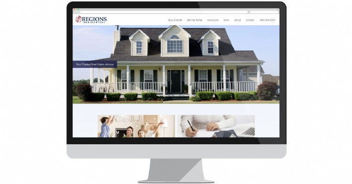 Regions Residential Launches New Website for Home Sellers & Buyers