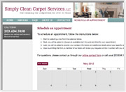 Custom Tool Lets Simply Clean's Customers Schedule Their Own Appointments