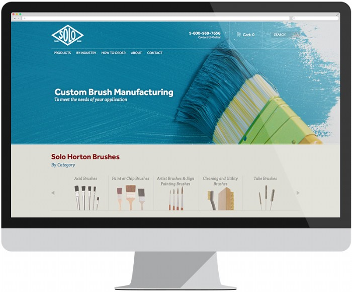Solo Horton Launches New eCommerce Website