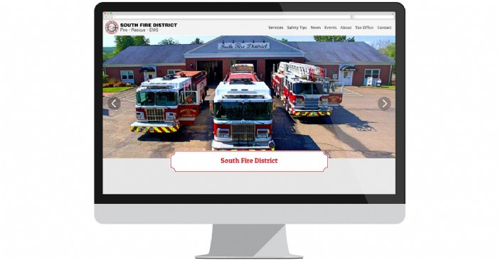 South Fire District of Middletown, CT, Launches New Website