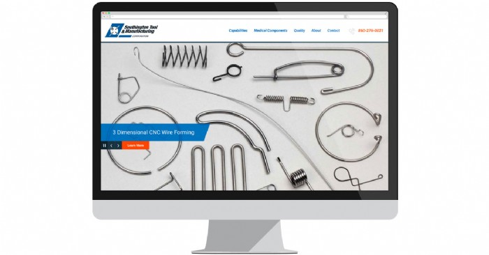 Southington Tool & Manufacturing Launches New Website