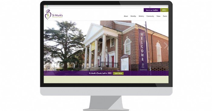St. Mark's Episcopal Church Welcomes Worshippers with New Website