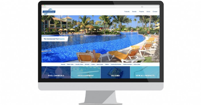 Streamline Aquatics Makes a Splash with New Website for Commercial Pool Accessories