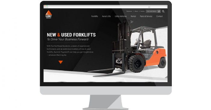 Summit Handling Launches New Website for Forklift Sales & Rentals