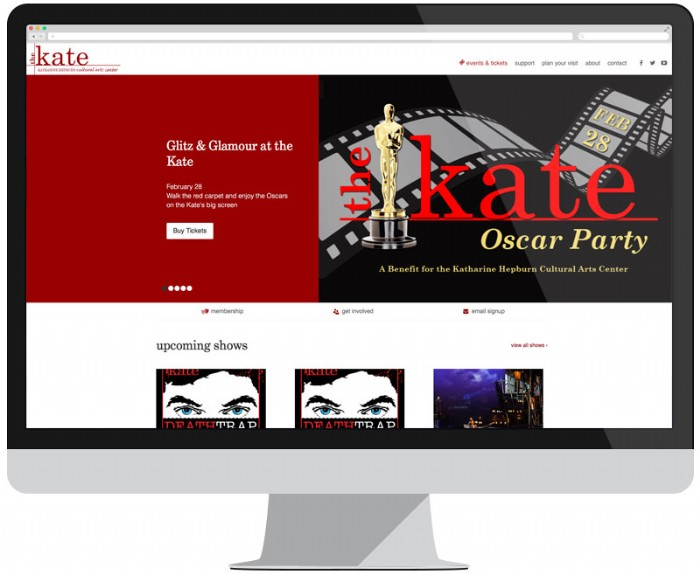 The Kate's New Website Takes Center Stage